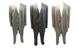 Joblot of 20 Assorted Mens Suits Varteks, Wilvorst, Hugo James Etc Plus Size