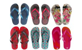 One Off Joblot of 27 Assorted Flip-Flops Huge Range of Styles & Sizes