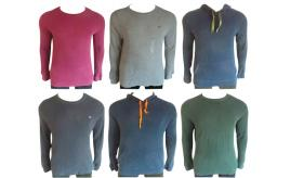 One Off Joblot of 7 De-Branded RL Jumpers & Hoodies Sizes M-XL