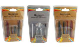 One Off of 162 Exspect Complete Stylus Replacement Packs For Nintendo DSi XL