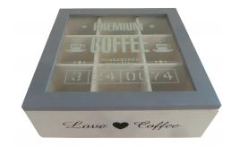 One Off Joblot of 16 Premium Coffee Display Boxes HA100-YM