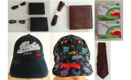 Joblot of 32 Pacha Ibiza Mixed Items - Wallets, Purses, Caps, CD Cases, Ties Etc
