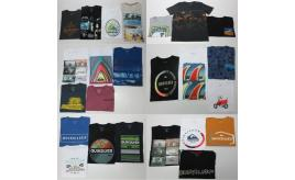 Wholesale Joblot of 50 Quiksilver Boys T-Shirts Range of Current Season Styles