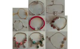 Wholesale Joblot of 20 Assorted Ladies Bracelets in Gift Boxes Various Designs