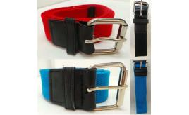 Wholesale Joblot of 100 Mens Canvas Belts Assorted Colours