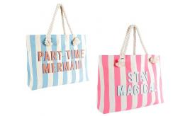 Wholesale Joblot of 24 Part Time Mermaid & Stay Magical Shoulder Bags BB1024
