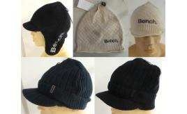 One Off Joblot of 25 Bench Winter Hats Assorted Styles Mens & Womens