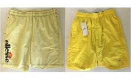 One Off Joblot of 13 Ellesse Mens Yellow Swimming Shorts 2 Styles