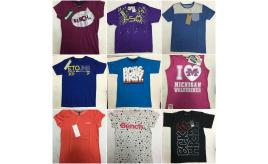One Off Joblot of 21 Kids Branded Tops - Beck & Hersey, Eto, Adidas & More
