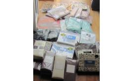 Quantity of Egyptian cotton sheets, valances, duvet sets, towels etc