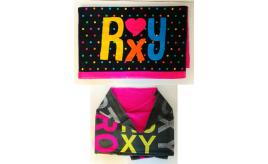 Wholesale Joblot of 10 Roxy Funky Beach Towels 2 Styles 75 x 150cm