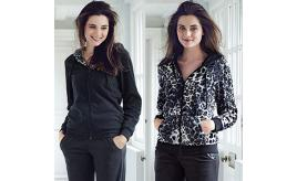 Wholesale Joblot of 20 Avon Leopard Fleece Reversible Jacket Size 8/10