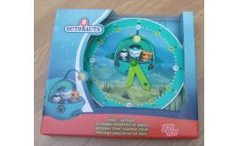 24 x Octonauts wooden teaching clocks. Educational