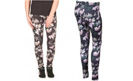 Wholesale Joblot of 10 Adidas Womens Orchid Flower Print Leggings Sizes S/M