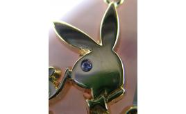 Playboy Miss Month Gold plated jewellery including Diamonds Rubys Garnets etc.