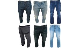Wholesale Joblot of 5 Voi Jeans Mens Jeans Assorted Styles & Sizes
