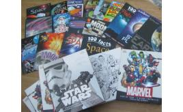 Quantity of Marvel, Star wars , Space and Alien books