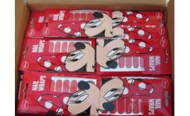 150 Packs of Genuine Disney Minnie mouse nail wraps