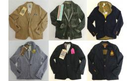 One Off Joblot of 6 Scotch Shrunk Boys Blazer Jackets Mixed Styles 6-9 Years
