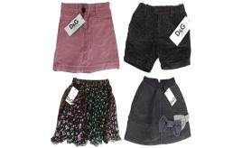 One Off Joblot of 5 Dolce & Gabbana Girls Skirts/Shorts 5 Styles