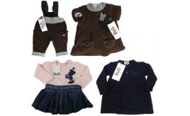 One Off Joblot of 4 Dolce & Gabbana Girls Dresses/Dungarees 4 Styles 3-6 Months
