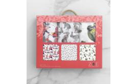 Baby Muslin Squares 3-Packs (25 x Woodland themed / 25 x Mechanised Dodo themed)