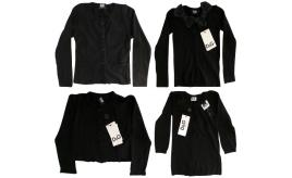 One Off Joblot of 6 Dolce & Gabbana Girls Black Cardigans Mixed Styles Size 3