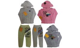 One Off Joblot of 8 True Religion Girls Hoodies and Sweatpants Mixed Styles