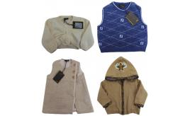 One Off Joblot of 4 Fendi Kids Clothing - Hoodie, Cardigan, Vest & Tunic Top