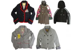 One Off Joblot of 6 John Galliano Childrens Jackets Mixed Styles Size 8
