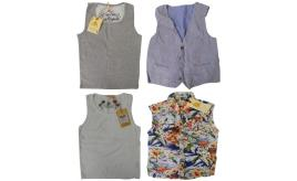 One Off Joblot of 7 Scotch Shrunk Boys Vest Tops, Waistcoat & Sleeveless Shirt