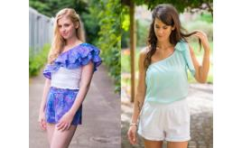 Joblot 20 Summer Tops and Shorts - 100% Cotton - Ethical Clothing