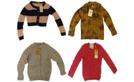 One Off Joblot of 7 Scotch R'Belle Girls Knit Jumpers 7 Styles 6-9 Years