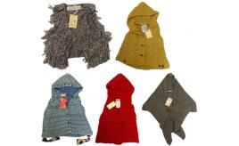One Off Joblot of 5 Scotch R'Belle Girls Winter Clothing - Ponchos, Gilet & More