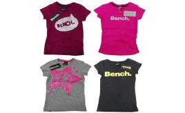 One Off Joblot of 17 Bench Childrens T-Shirts Assorted Styles Mixed Sizes