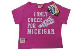 Wholesale Joblot of 10 American Freshman I Only Cheer For Michigan Girls T-Shirt