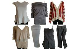 One Off Joblot of 9 Womens Mixed Clothing - Club L, Katsumi, Firetrap & More