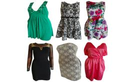 One Off Joblot of 11 Womens Mixed Dresses - Rare, Club L, Lipsy & More