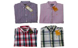 One Off Joblot of 11 Farah Vintage Mens Shirts Short & Long Sleeve Mixed Styles