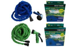 Wholesale Joblot of 20 Magic Hose & Spray Gun Expanding 7.5m - 30m 2 Colours