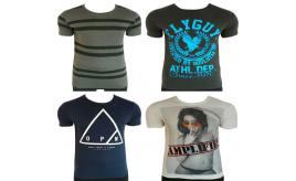 One Off Joblot of 11 Mens Branded T-Shirts - Open, Fly Guy, Amplified & Humor
