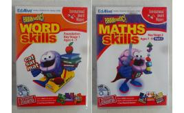 Wholesale Joblot of 50 Braintastic! Word Skills & Maths Skills Win/Mac CD