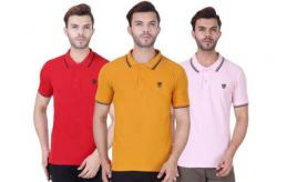 Men's Realm Tipped Polo x 15