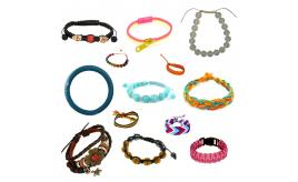 Wholesale Joblot Of 100 Mixed Fashion Costume Bracelets For Women & Girls