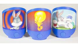 Wholesale Job Lot Children's Magic Night Light Looney Tunes Bugs Bunny Mixed Designs