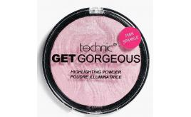 One Off Joblot of 61 Technic Get Gorgeous Highlighting Powder Pink Sparkle 6g