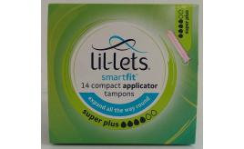 Joblot of 60 Lil-Lets SmartFit Compact Applicator Tampons Super Plus (14PK)