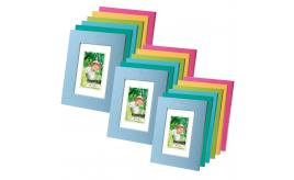 Picture Holder Photo Family Frames mix of 10 sizes and colours