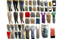 Joblot of 50 Ladies Mixed Ex-Chain Store Clothing