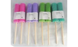 Box of 24 Garden Flares Garden Candles on Canes Small Garden Torch Candles In Packs of 2
